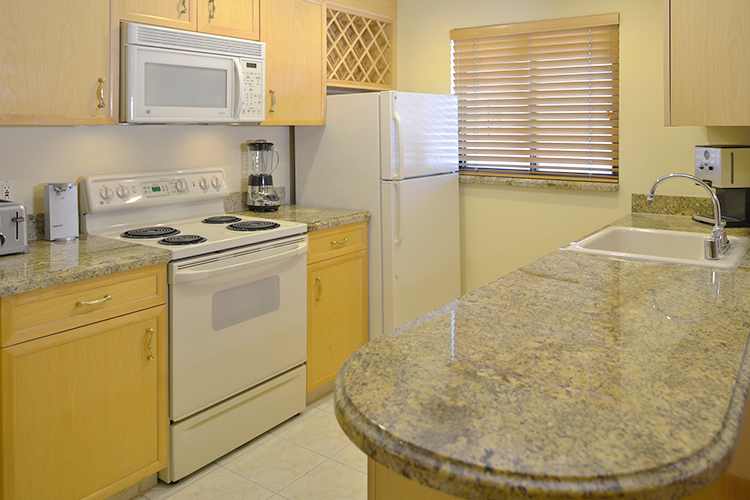 Strip Room with Full Kitchen